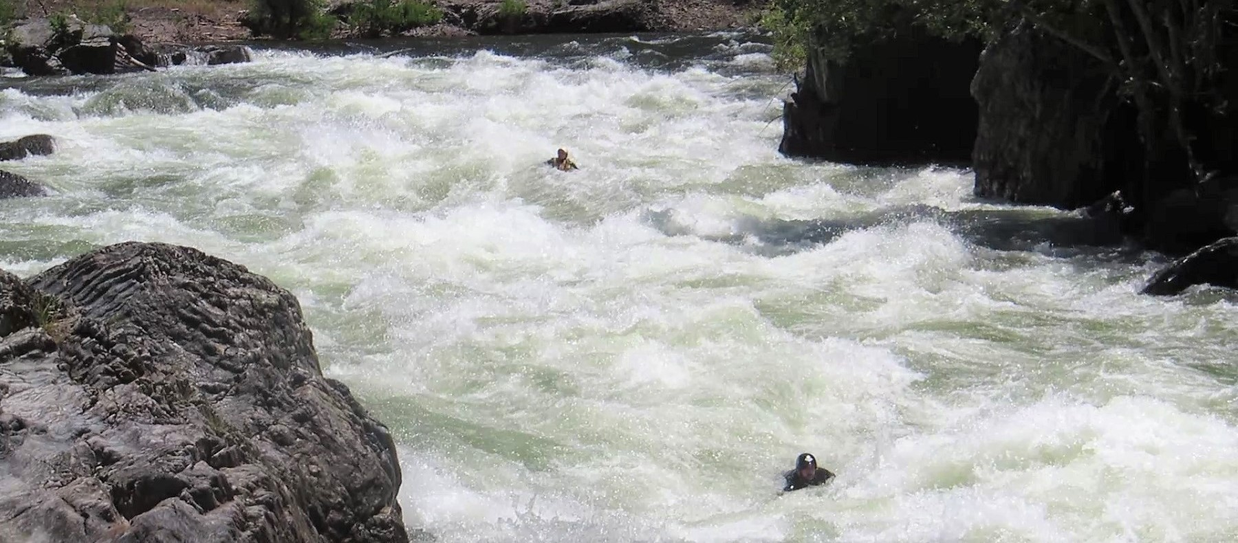 Best Practices for Swimming Whitewater Rapids