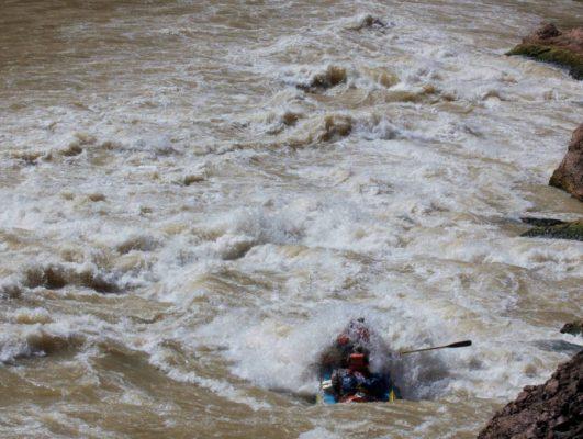 Grand Canyon Rafting through Lava Falls Rapid